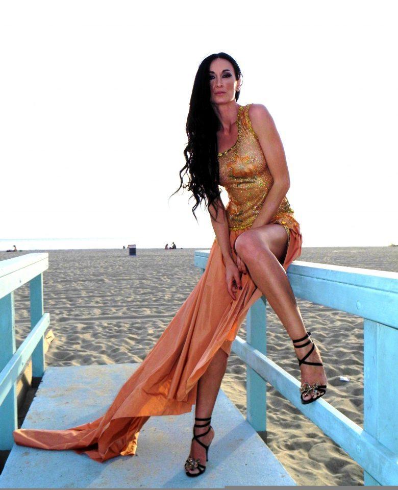 Regina Salpagarova Fashion Model